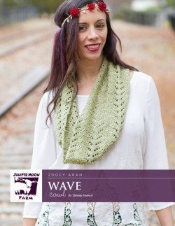 Juniper Moon Farm Wave Cowl Pattern