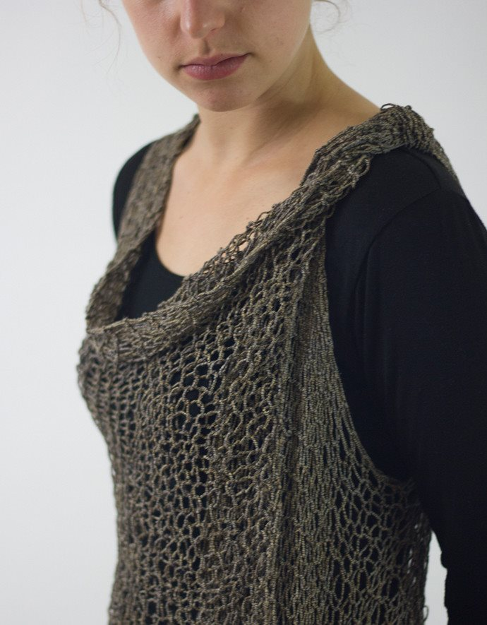 Paradise Fibers Pattern Weekend Wrap Pattern  - 4