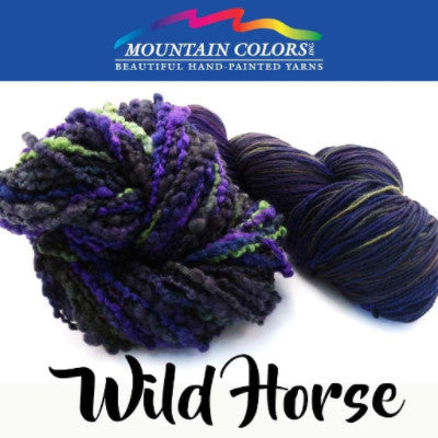 Mountain Colors Twizzlefoot Yarn Wild Horse - 84