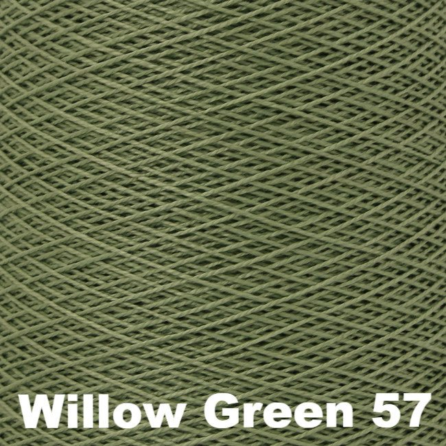 5/2 Perle Cotton 1lb Cones Willow Green 57 - 80