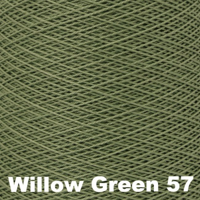 3/2 Perle Cotton 1lb Cones Willow Green 57 - 80