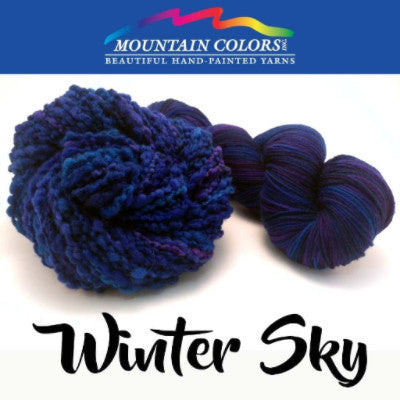 Mountain Colors Twizzlefoot Yarn Winter Sky - 86