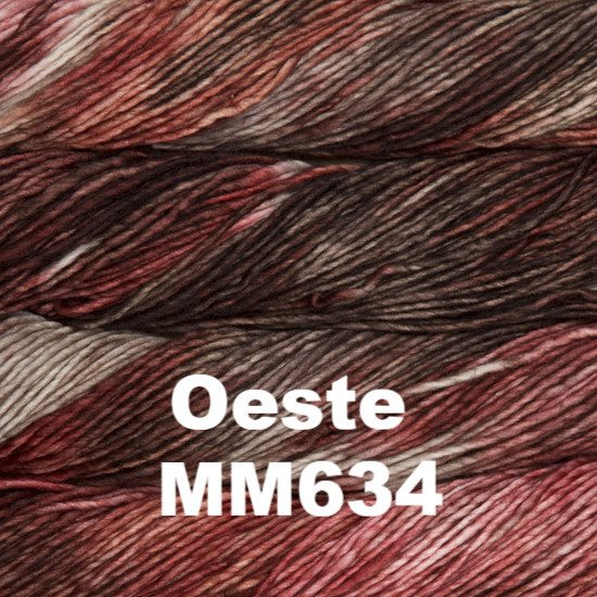 Malabrigo Worsted Yarn Variegated Oeste MM634 - 40
