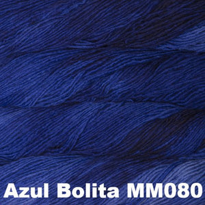 Malabrigo Worsted Yarn Semi-Solids-Yarn-Azul Bolita MM080-