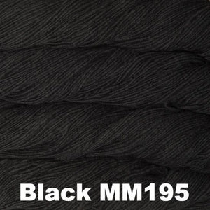 Malabrigo Worsted Yarn Semi-Solids-Yarn-Black MM195-