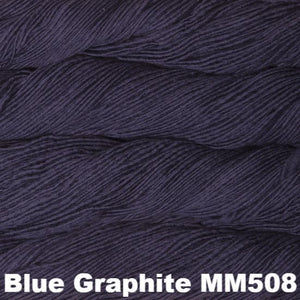Malabrigo Worsted Yarn Semi-Solids-Yarn-Blue Graphite MM508-