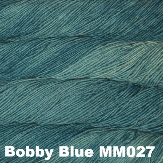 Malabrigo Worsted Yarn Semi-Solids Bobby Blue MM027 - 56