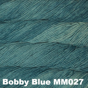 Malabrigo Worsted Yarn Semi-Solids-Yarn-Bobby Blue MM027-