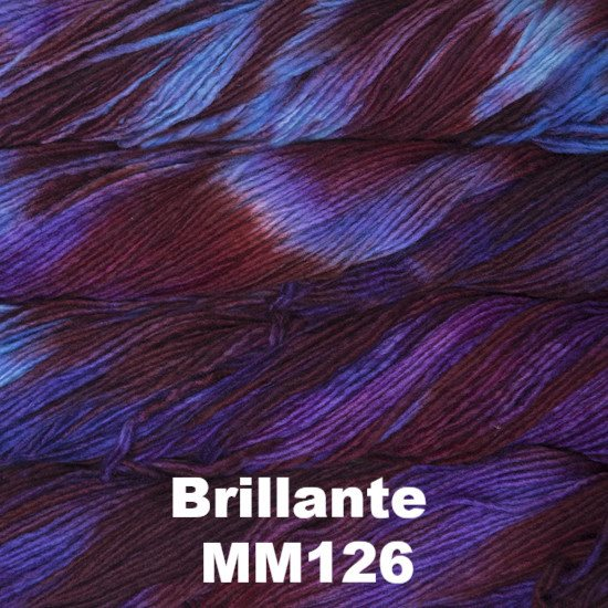 Malabrigo Worsted Yarn Variegated Brillante MM126 - 26