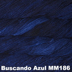 Malabrigo Worsted Yarn Semi-Solids-Yarn-Buscando Azul MM186-