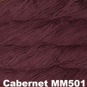 Malabrigo Worsted Yarn Semi-Solids-Yarn-Cabernet MM501-