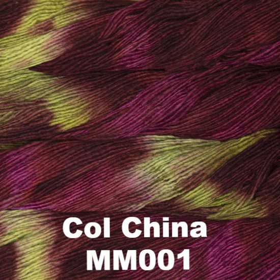Malabrigo Worsted Yarn Variegated Col China MM001 - 13
