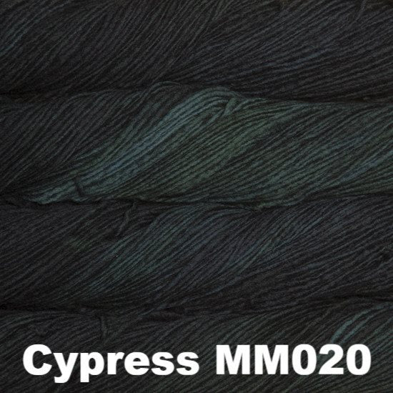 Malabrigo Worsted Yarn Semi-Solids Cypress MM020 - 44