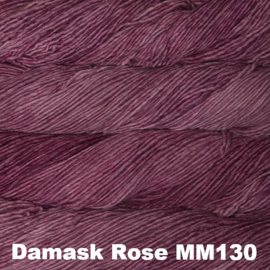 Malabrigo Worsted Yarn Semi-Solids Damask Rose MM130 - 23