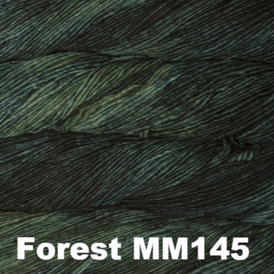Malabrigo Worsted Yarn Semi-Solids Forest MM145 - 45