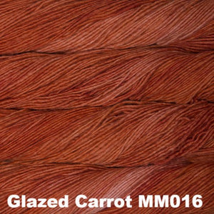 Malabrigo Worsted Yarn Semi-Solids-Yarn-Glazed Carrot MM016-