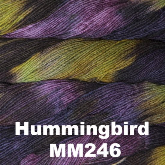 Malabrigo Worsted Yarn Variegated Hummingbird MM246 - 28