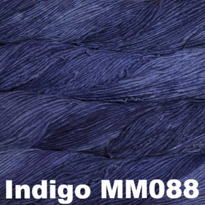 Malabrigo Worsted Yarn Semi-Solids-Yarn-Indigo MM088-
