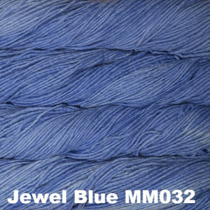Malabrigo Worsted Yarn Semi-Solids-Yarn-Jewel Blue MM032-