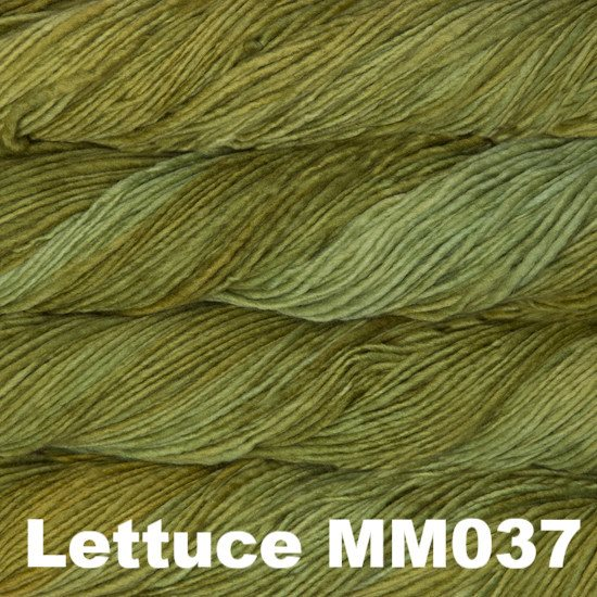 Malabrigo Worsted Yarn Semi-Solids Lettuce MM037 - 34
