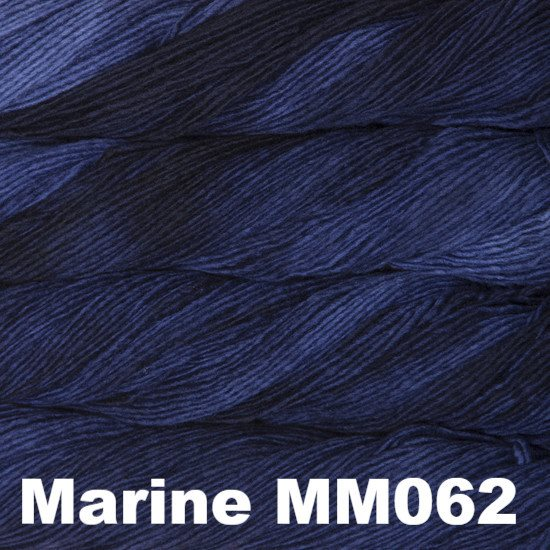 Malabrigo Worsted Yarn Semi-Solids Marine MM062 - 59