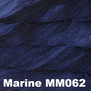 Malabrigo Worsted Yarn Semi-Solids-Yarn-Marine MM062-