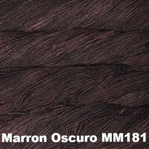 Malabrigo Worsted Yarn Semi-Solids-Yarn-Marron Oscuro MM181-