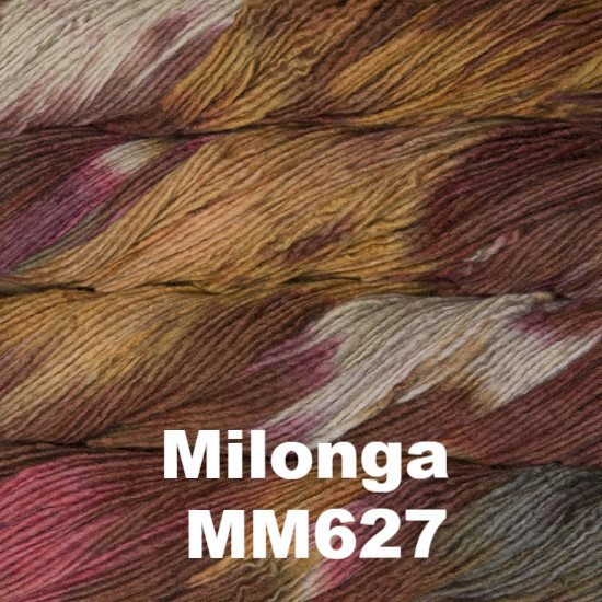 Malabrigo Worsted Yarn Variegated Milonga MM627 - 35