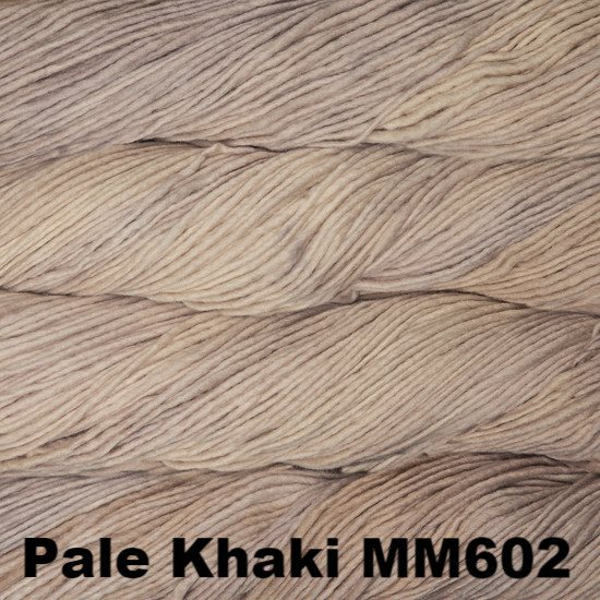 Malabrigo Worsted Yarn Semi-Solids Pale Khaki MM602 - 77
