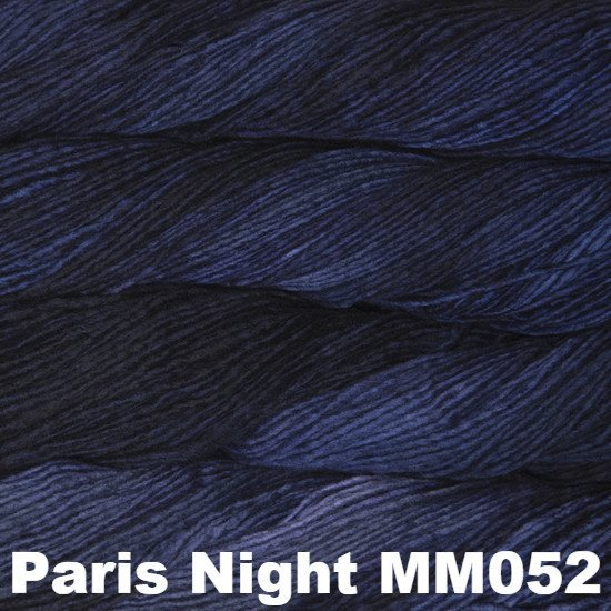 Malabrigo Worsted Yarn Semi-Solids Paris Night MM052 - 61