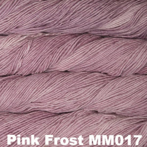 Malabrigo Worsted Yarn Semi-Solids-Yarn-Pink Frost MM017-