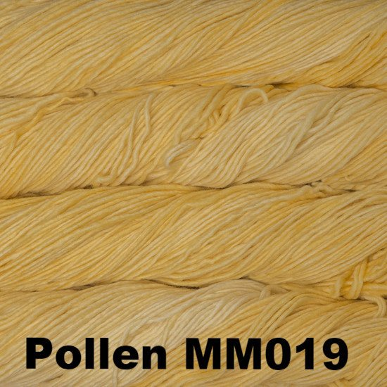 Malabrigo Worsted Yarn Semi-Solids Pollen MM019 - 28