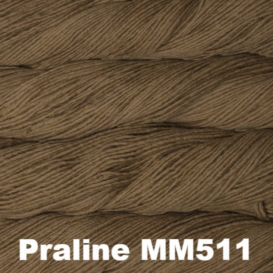 Malabrigo Worsted Yarn Semi-Solids Praline MM511 - 78
