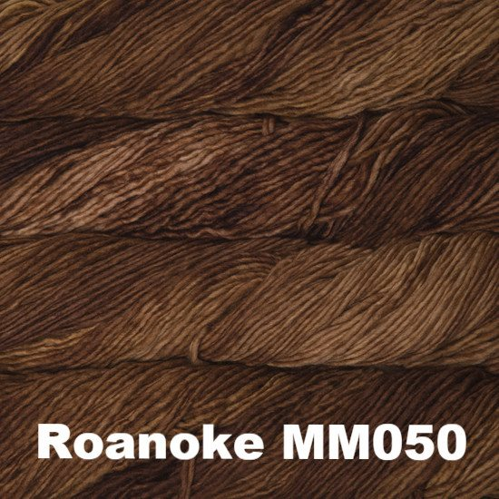 Malabrigo Worsted Yarn Semi-Solids Roanoke MM050 - 75