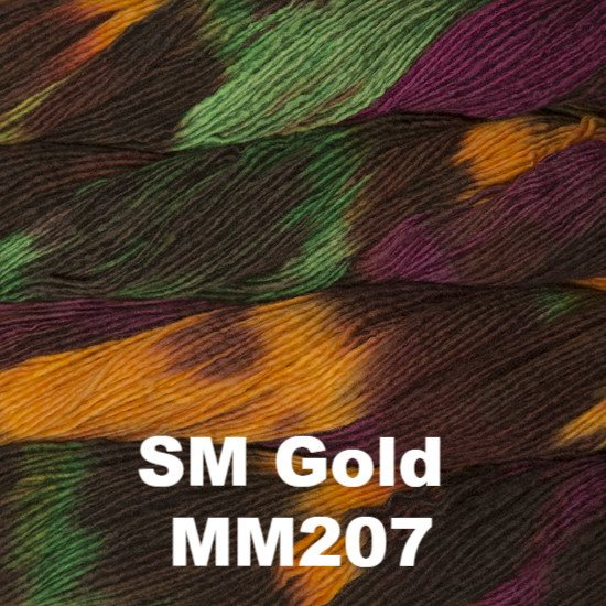 Malabrigo Worsted Yarn Variegated SM Gold MM207 - 30