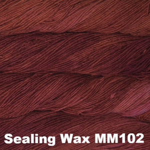 Malabrigo Worsted Yarn Semi-Solids-Yarn-Sealing Wax MM102-