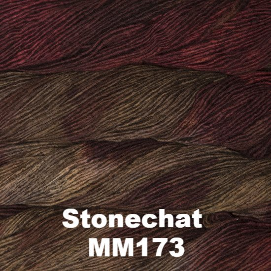 Malabrigo Worsted Yarn Variegated Stonechat MM173 - 18