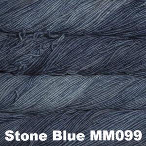 Malabrigo Worsted Yarn Semi-Solids-Yarn-Stone Blue MM099-