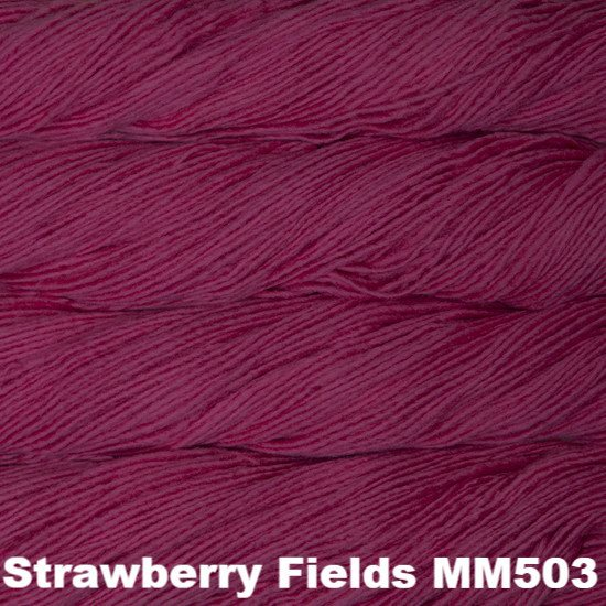 Malabrigo Worsted Yarn Semi-Solids Strawberry Fields MM503 - 24