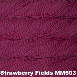 Malabrigo Worsted Yarn Semi-Solids-Yarn-Strawberry Fields MM503-