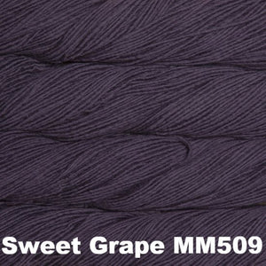 Malabrigo Worsted Yarn Semi-Solids-Yarn-Sweet Grape MM509-