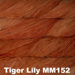 Malabrigo Worsted Yarn Semi-Solids-Yarn-Tiger Lily MM152-