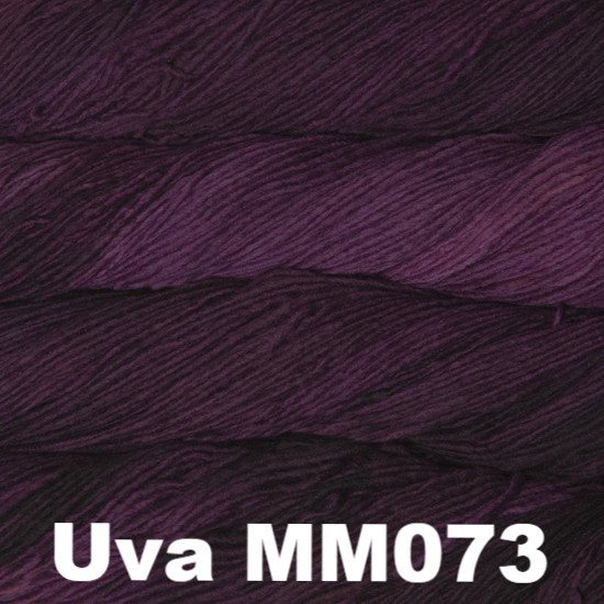 Malabrigo Worsted Yarn Semi-Solids Uva MM073 - 72