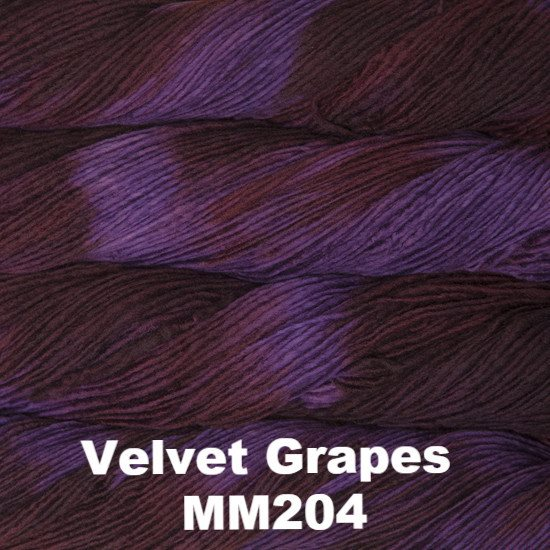 Malabrigo Worsted Yarn Variegated Velvet Grapes MM204 - 2