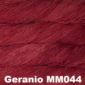 Malabrigo Worsted Yarn Semi-Solids-Yarn-Geranio MM044-