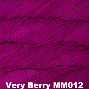 Malabrigo Worsted Yarn Semi-Solids-Yarn-Very Berry MM012-