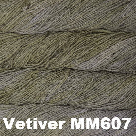 Malabrigo Worsted Yarn Semi-Solids Vetiver MM607 - 38