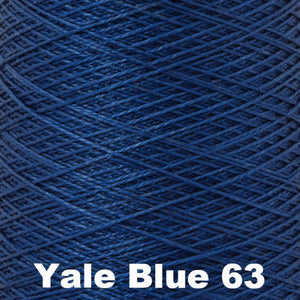 3/2 Mercerized Perle Cotton-Weaving Cones-Yale Blue 63-