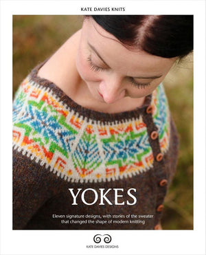 Yokes Book by Kate Davies-Publications-