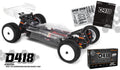HB Racing D418 1/10 Electric Car Kit -ΤΙΜΗ ΓΝΩΡΙΜΙΑΣ